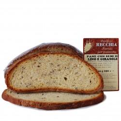 Pane ai semi di lino e girasole