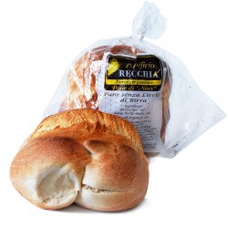 Pane senza lievito di birra