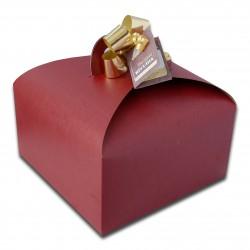 Panettone in confezione gold senza lattosio al cioccolato (stagionale)