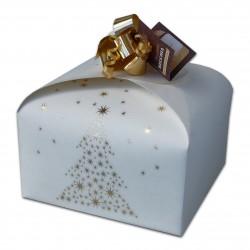 Panettone in confezione gold senza lattosio tradizionale (stagionale)