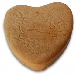 Pan di spagna a cuore